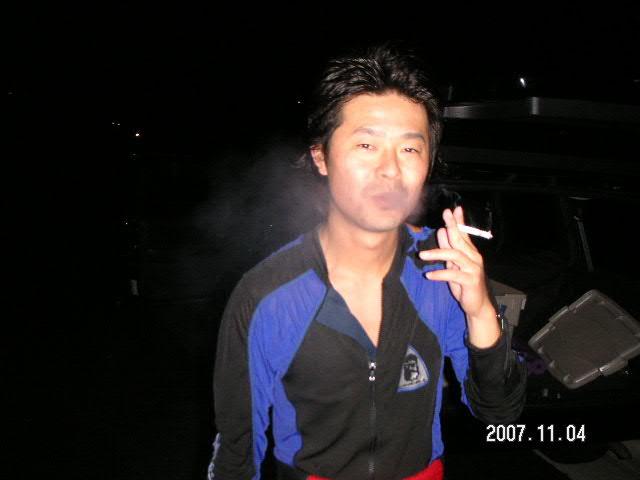 獲った後はタバコがんんんんんまい!