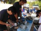 ハマグリ腹イッパイ食べよぉ~BBQ de キャンプ